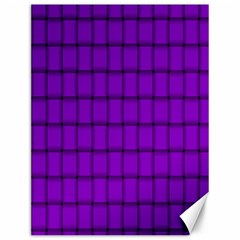 Dark Violet Weave Canvas 12  X 16  (unframed)