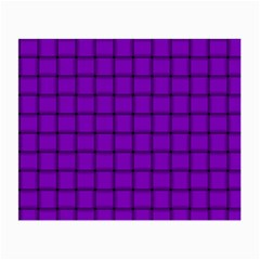 Dark Violet Weave Glasses Cloth (Small, Two Sided)