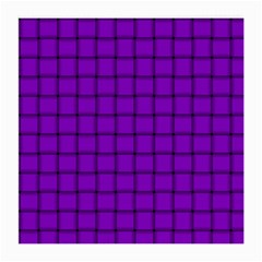 Dark Violet Weave Glasses Cloth (Medium, Two Sided)