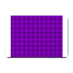 Dark Violet Weave Small Door Mat