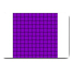 Dark Violet Weave Large Door Mat