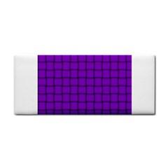 Dark Violet Weave Hand Towel