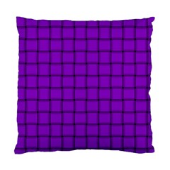 Dark Violet Weave Cushion Case (two Sides)