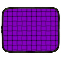 Dark Violet Weave Netbook Case (XXL)