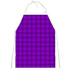 Dark Violet Weave Apron