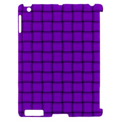 Dark Violet Weave Apple iPad 2 Hardshell Case (Compatible with Smart Cover)