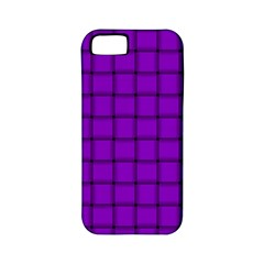 Dark Violet Weave Apple iPhone 5 Classic Hardshell Case (PC+Silicone)