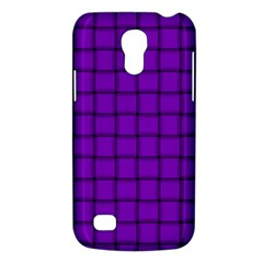 Dark Violet Weave Samsung Galaxy S4 Mini Hardshell Case