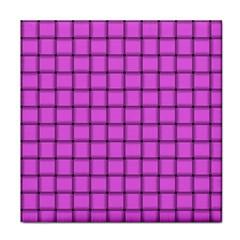 Ultra Pink Weave  Ceramic Tile