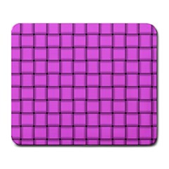 Ultra Pink Weave  Large Mouse Pad (Rectangle)
