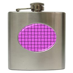 Ultra Pink Weave  Hip Flask