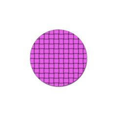 Ultra Pink Weave  Golf Ball Marker 4 Pack