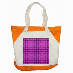 Ultra Pink Weave  Accent Tote Bag