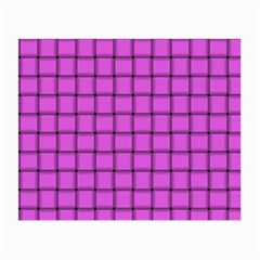 Ultra Pink Weave  Glasses Cloth (Small, Two Sided)