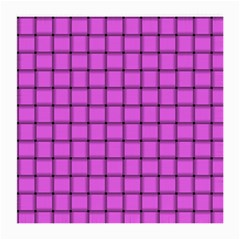 Ultra Pink Weave  Glasses Cloth (medium, Two Sided)