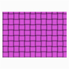 Ultra Pink Weave  Glasses Cloth (Large)