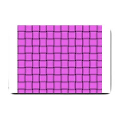 Ultra Pink Weave  Small Door Mat