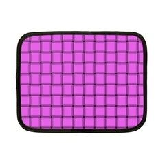 Ultra Pink Weave  Netbook Case (Small)