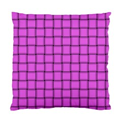 Ultra Pink Weave  Cushion Case (One Side)