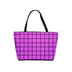 Ultra Pink Weave  Large Shoulder Bag