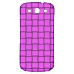 Ultra Pink Weave  Samsung Galaxy S3 S III Classic Hardshell Back Case