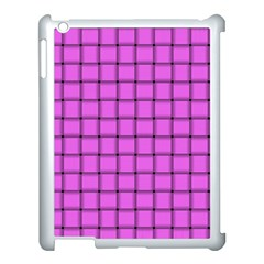 Ultra Pink Weave  Apple Ipad 3/4 Case (white)