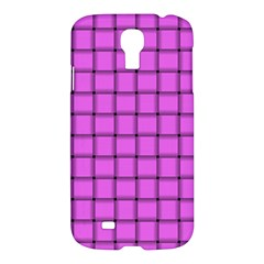 Ultra Pink Weave  Samsung Galaxy S4 I9500 Hardshell Case