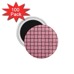 Light Pink Weave 1 75  Button Magnet (100 Pack)