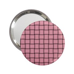 Light Pink Weave Handbag Mirror (2.25 )