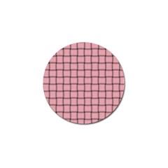 Light Pink Weave Golf Ball Marker 10 Pack