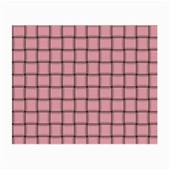 Light Pink Weave Glasses Cloth (Small)