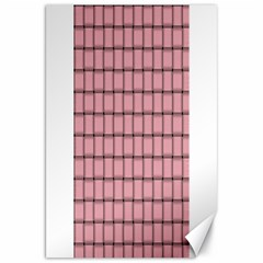 Light Pink Weave Canvas 20  x 30  (Unframed)