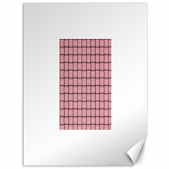 Light Pink Weave Canvas 36  x 48  (Unframed)