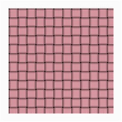 Light Pink Weave Glasses Cloth (Medium, Two Sided)