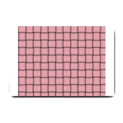 Light Pink Weave Small Door Mat