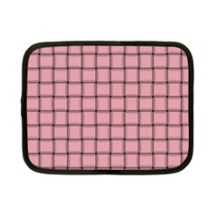 Light Pink Weave Netbook Case (Small)
