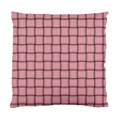 Light Pink Weave Cushion Case (Two Sides)