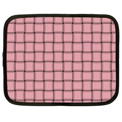Light Pink Weave Netbook Case (XXL)
