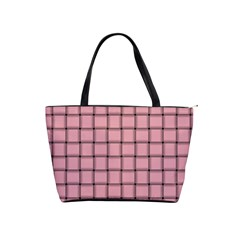 Light Pink Weave Large Shoulder Bag