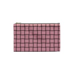 Light Pink Weave Cosmetic Bag (Small)