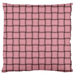 Light Pink Weave Large Cushion Case (one Side)