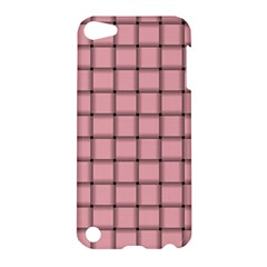 Light Pink Weave Apple Ipod Touch 5 Hardshell Case
