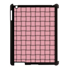 Light Pink Weave Apple Ipad 3/4 Case (black)