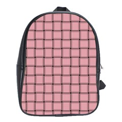 Light Pink Weave School Bag (XL)