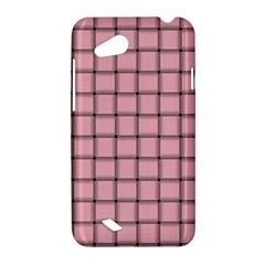 Light Pink Weave HTC T328D (Desire VC) Hardshell Case
