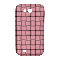 Light Pink Weave Samsung Galaxy Grand GT-I9128 Hardshell Case