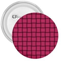 Dark Pink Weave 3  Button