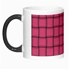 Dark Pink Weave Morph Mug