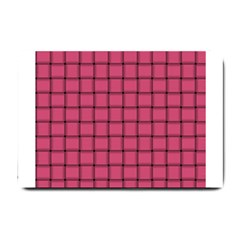 Dark Pink Weave Small Door Mat