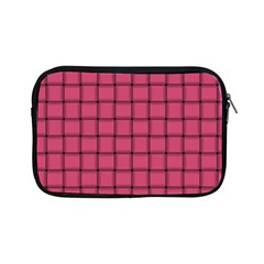 Dark Pink Weave Apple iPad Mini Zipper Case